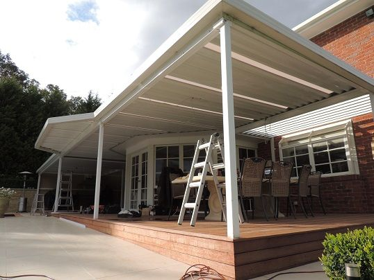 Insulated Ceilings Optiscreen Pvc Outdoor Screens